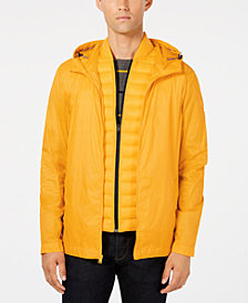 Tommy Hilfiger Men's 2 in 1 Packable Hooded Windbreaker, Created for Macy's