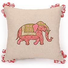 "Amrita Medallion 14""x14"" Decorative Pillow"