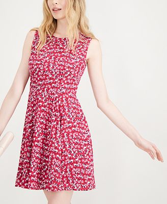 Maison Jules Printed Fit And Flare Dress Created For Macy S
