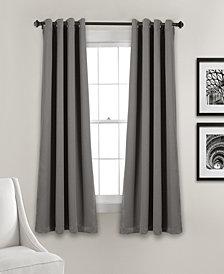 """Lush Décor 63""""x52"""" Insulated Grommet Blackout Curtain Panels Set"""