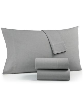 CLOSEOUT! Sleep Soft Cotton 200 Thread Count 3-Pc. Yarn Dyed Twin Sheet Set, Created for Macy's
