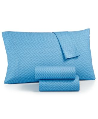 Channel Island Chevron Cotton Standard Pillowcase Pair