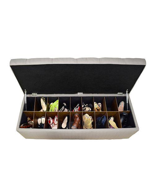 Miraculous Sole Secret Diamond Tufted Small Shoe Storage Bench Spiritservingveterans Wood Chair Design Ideas Spiritservingveteransorg