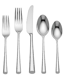 Marchesa by Lenox Flatware 18/10, Imperial Caviar 5 Piece Place Setting