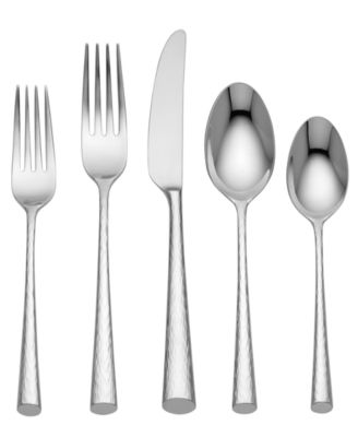 Marchesa by Lenox Flatware 18/10 Imperial Caviar 5 Piece Place Setting  sc 1 st  Macy\u0027s & Marchesa by Lenox Flatware 18/10 Imperial Caviar 5 Piece Place ...