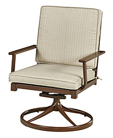 Home Styles Key West Swivel Rocking Chair