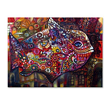 Oxana Ziaka 'Magic Fish' Canvas Art Print Collection