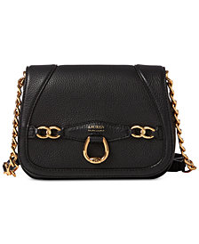 Lauren Ralph Lauren Stonegate Leather Crossbody