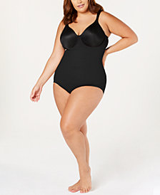 Miraclesuit Women's Plus Size Flexible Fit Extra-Firm Brief 2935
