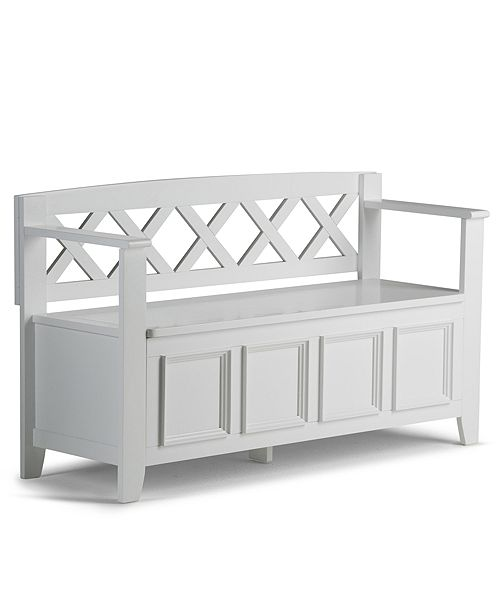 Simpli Home Canton Storage Bench