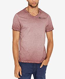 Buffalo David Bitton Men's Tycid V-Neck Graphic T-Shirt