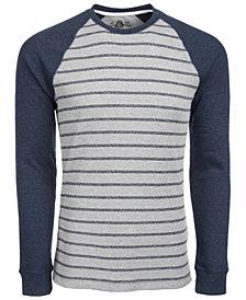 American Rag Men's Hash Stripe Raglan-Sleeve Thermal T-Shirt, Created for Macy's