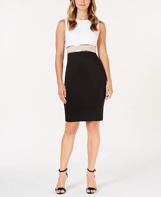 petite knee length dress