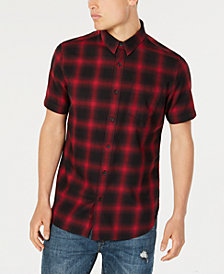 American Rag Men's Wes Plaid Pocket Shirt, Created for Macy's