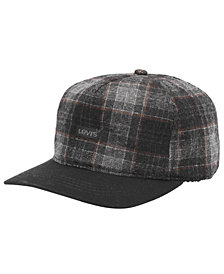 Levi's® Men's Plaid Baseball Cap