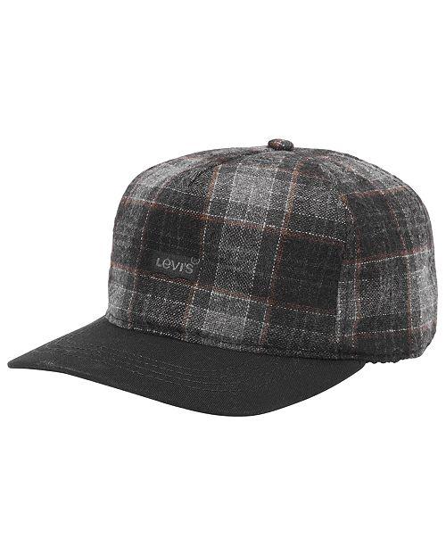 443a4fe03da Levi s Men s Plaid Baseball Cap - Hats