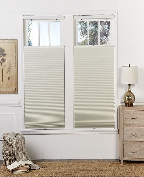 "The Cordless Collection Cordless Blackout Top Down Bottom Up Shade, 21.5"" x 64"""