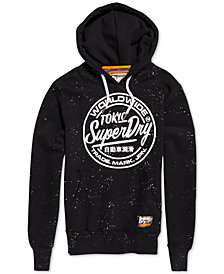 Superdry Men's World Wide Ticket Type Logo Hoodie