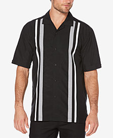 Cubavera Men's Big & Tall Tri-Color Panel Shirt