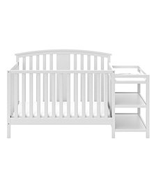 Storkcraft Greyson 4 in 1 Convertible Crib and Changer