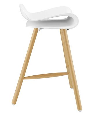 Modway Clip Bar Stool Set Of 4 Furniture Macys