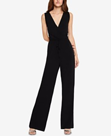 BCBGeneration Cutout-Back Jumpsuit