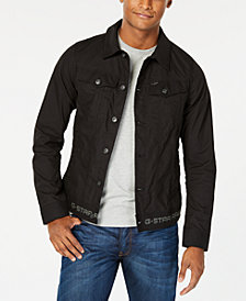 G-Star RAW Men's Slim-Fit Black Denim Jacket, Created for Macy's