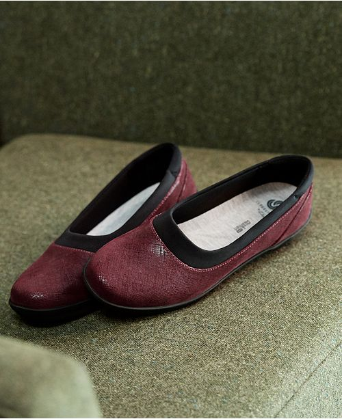 fd96c47dbd2 ... Clarks Collection Women s Ayla Pure Cloudsteppers Flats