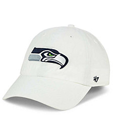 '47 Brand Seattle Seahawks CLEAN UP Strapback Cap