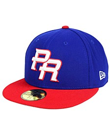 Puerto Rico World Baseball Classic 59FIFTY Fitted Cap