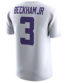 Men's Odell Beckham Jr. LSU Tigers Name and Number T-Shirt