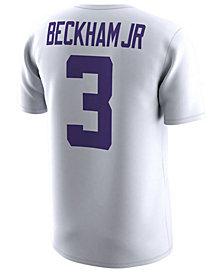 Nike Men's Odell Beckham Jr. LSU Tigers Name and Number T-Shirt