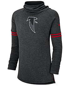 Nike Women's Atlanta Falcons Funnel Neck Long Sleeve T-Shirt