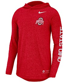 Nike Men's Ohio State Buckeyes Long Sleeve Hooded T-Shirt