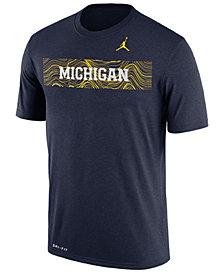 Nike Men's Michigan Wolverines Legend Staff Sideline T-Shirt