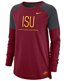 Nike Women's Iowa State Cyclones Tailgate Long Sleeve T-Shirt