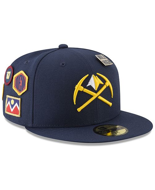 check out 72402 a68d5 ... New Era Denver Nuggets City On-Court 59FIFTY FITTED Cap ...