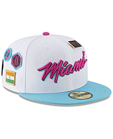 New Era Miami Heat City On-Court 59FIFTY FITTED Cap