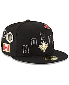 New Era Toronto Raptors City On-Court 59FIFTY FITTED Cap