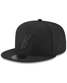 New Era New York Knicks Alpha Triple Black 59FIFTY FITTED Cap