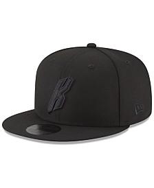 New Era New York Knicks Alpha Triple Black 59FIFTY FITTED Cap