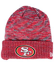 New Era Boys' San Francisco 49ers Touchdown Knit Hat