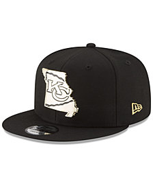 New Era Kansas City Chiefs Gold Stated 9FIFTY Snapback Cap