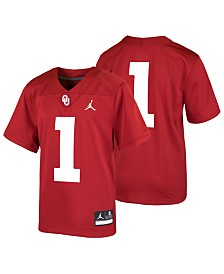 Nike Oklahoma Sooners Replica Football Game Jersey, Big Boys (8-20)