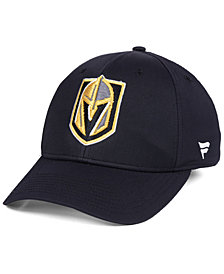 Authentic NHL Headwear Vegas Golden Knights Iconic Structured Flex Stretch Fitted Cap