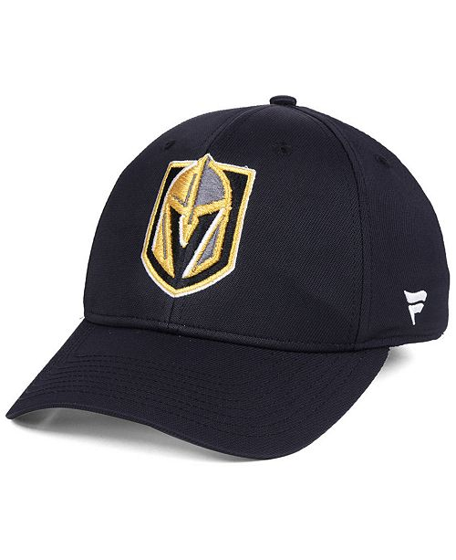 reputable site 6fa1c ecda8 ... Authentic NHL Headwear Vegas Golden Knights Iconic Structured Flex  Stretch Fitted Cap ...