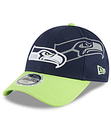 New Era Boys' Seattle Seahawks Side Flect 9FORTY Cap