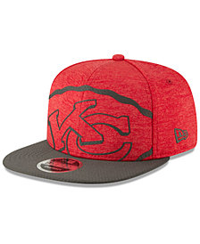 New Era Kansas City Chiefs Oversized Laser Cut 9FIFTY Snapback Cap