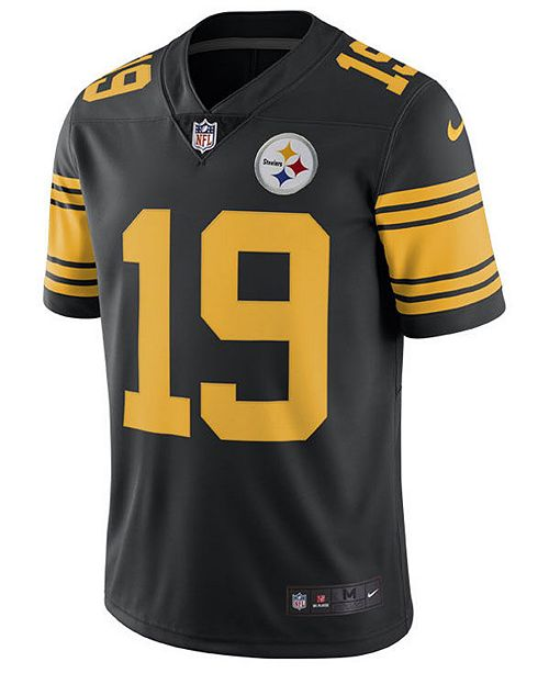 Wholesale Nike Men's Juju Smith Schuster Pittsburgh Steelers Limited Color  for cheap