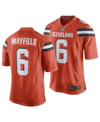 cheap for discount 075a1 1df67 Men's Baker Mayfield Cleveland Browns Game Jersey